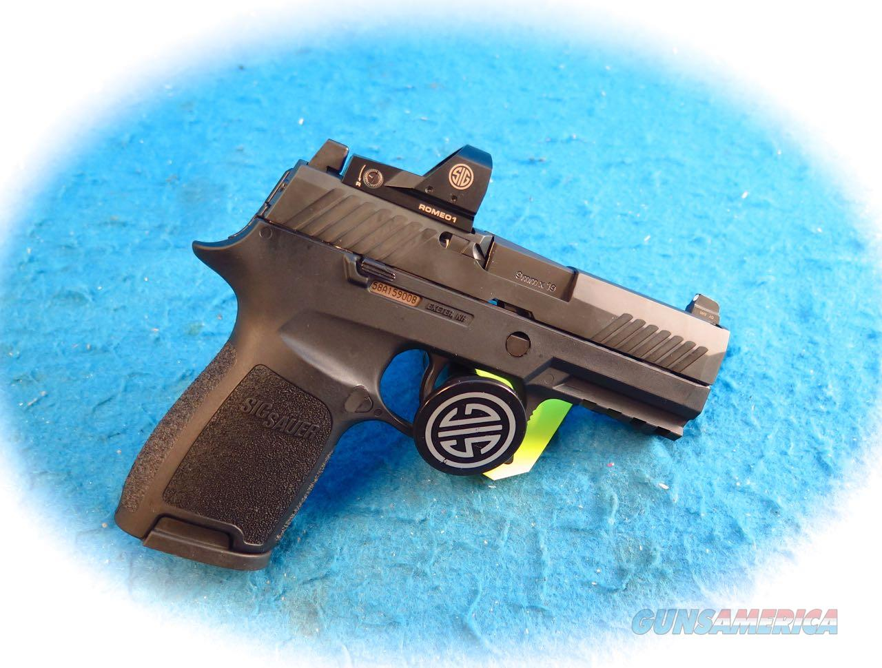 Sig Sauer Model P320C 9mm W/Romeo 1 Red-Dot Sight **New**  Guns > Pistols > Sig - Sauer/Sigarms Pistols > P320