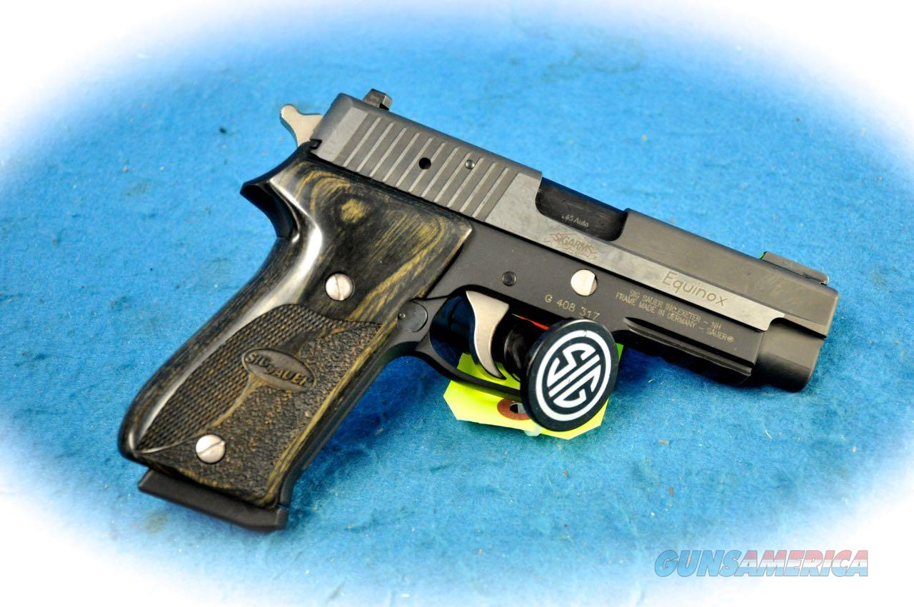 Sig Sauer P220 Equinox .45 ACP Pistol **Used**  Guns > Pistols > Sig - Sauer/Sigarms Pistols > P220