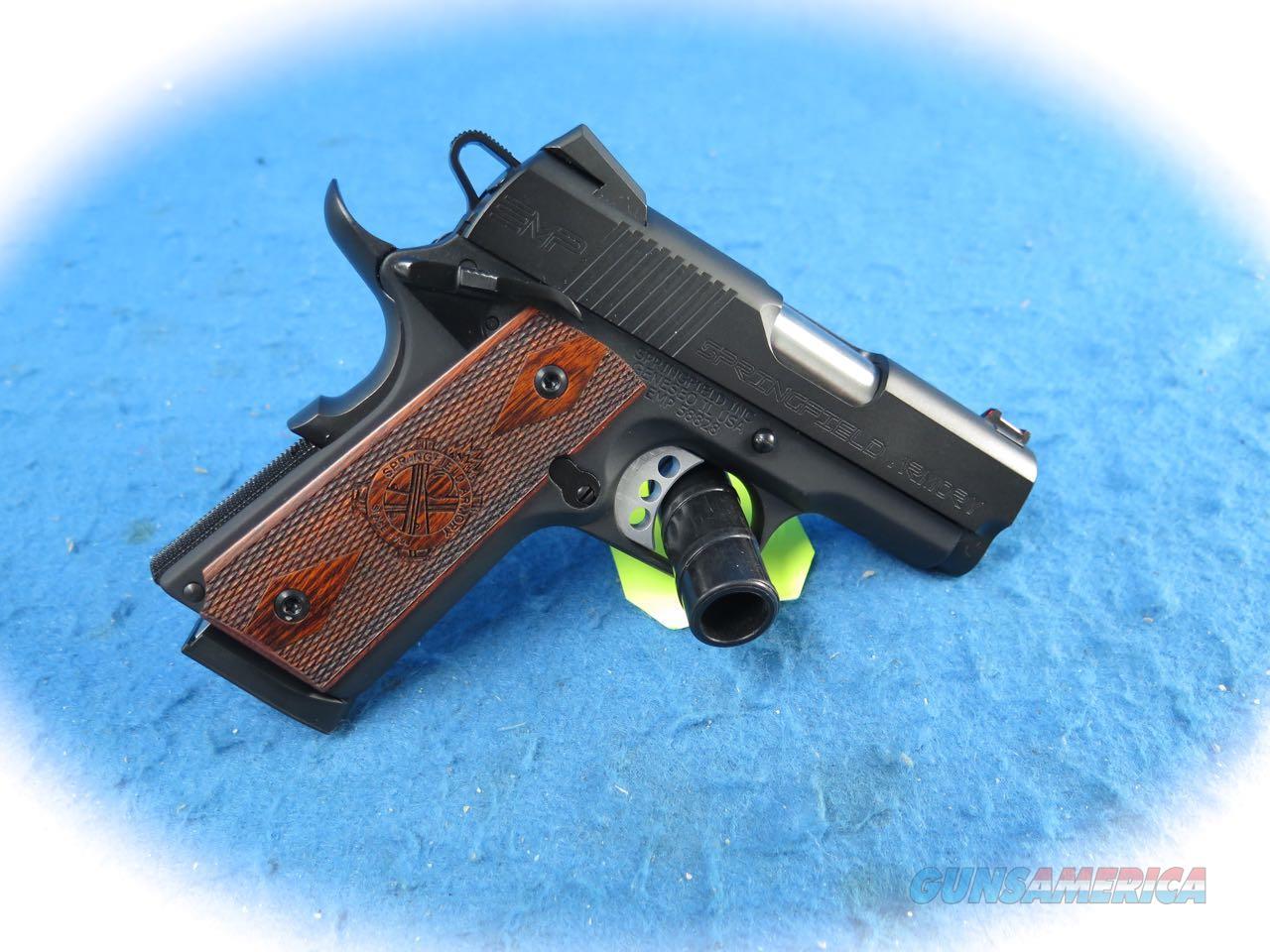 Springfield Armory EMP 9mm Semi Auto Pistol Model PI9208L **New**  Guns > Pistols > Springfield Armory Pistols > 1911 Type