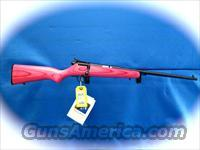 Savage Cub Mini Youth Model Pink 22 Rifle  Guns > Rifles > Savage Rifles > Accutrigger Models > Sporting