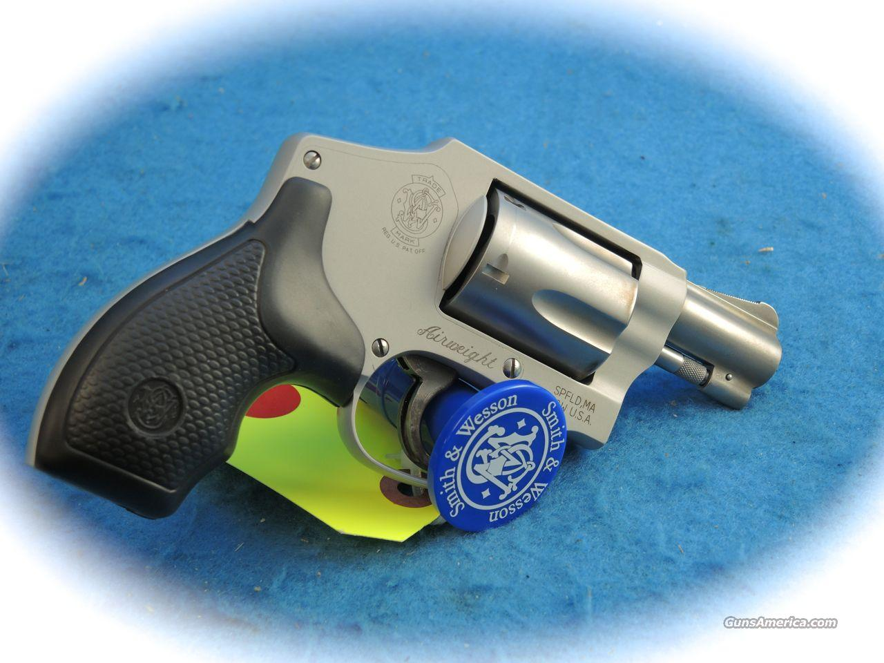 Smith & Wesson Model 642 .38 Spl +P 5 Shot Airweight Revolver  **Used**  Guns > Pistols > Smith & Wesson Revolvers > Pocket Pistols