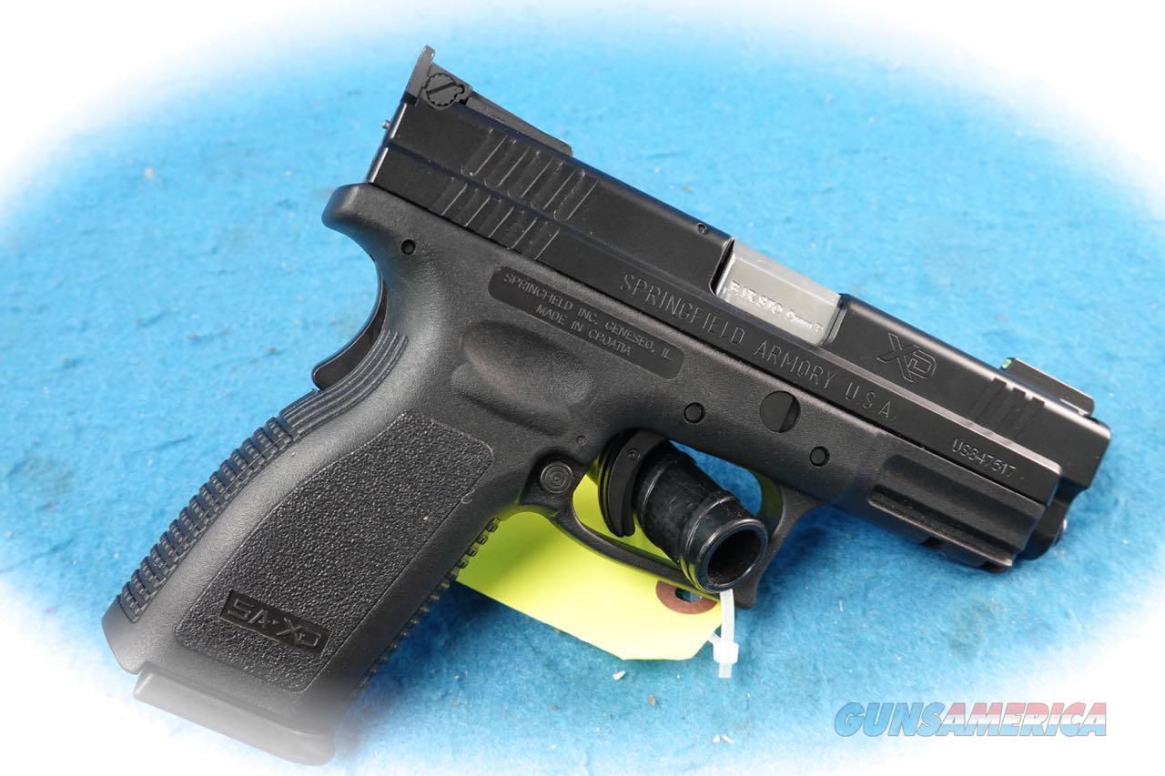 Springfield Armory XD-9 9mm Pistol W/Barsto Barrel **Used**  Guns > Pistols > Springfield Armory Pistols > XD (eXtreme Duty)