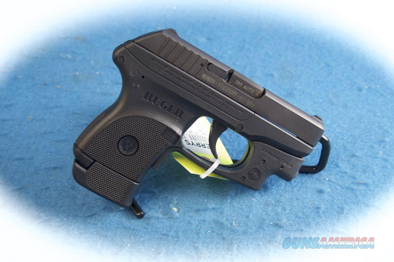 Ruger LCP .380 ACP Pistol w/ Crimson Trace Laserguard **Used**  Guns > Pistols > Ruger Semi-Auto Pistols > LCP