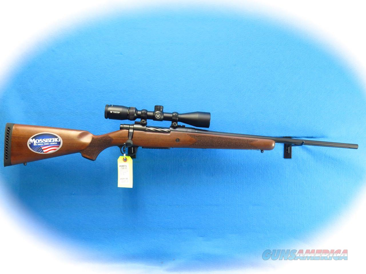 Mossberg Patriot Walnut Bolt Action .308 Win Rifle/Scope Pkg SKU  27940 **New**  Guns > Rifles > Mossberg Rifles > Other Bolt Action