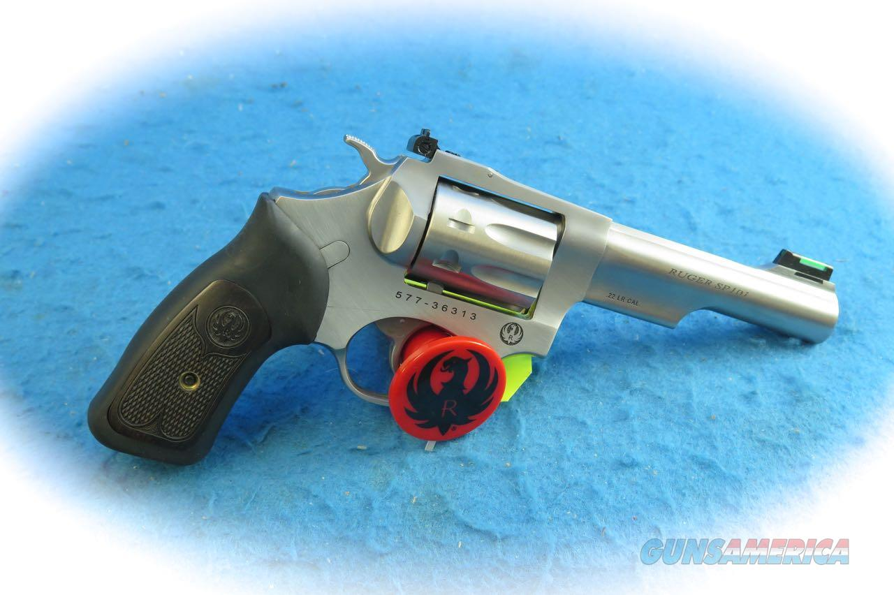 Ruger SP 101 Double Action .22 LR SS Revolver Model 5765 **New**  Guns > Pistols > Ruger Double Action Revolver > SP101 Type