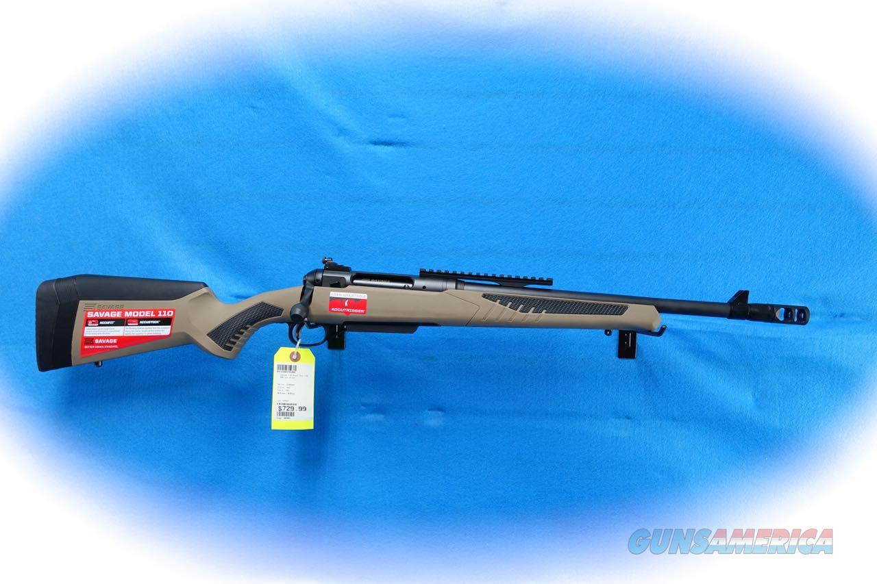 Savage Arms Model 110 Scout Rifle .308 Win Cal **New**  Guns > Rifles > Savage Rifles > 10/110