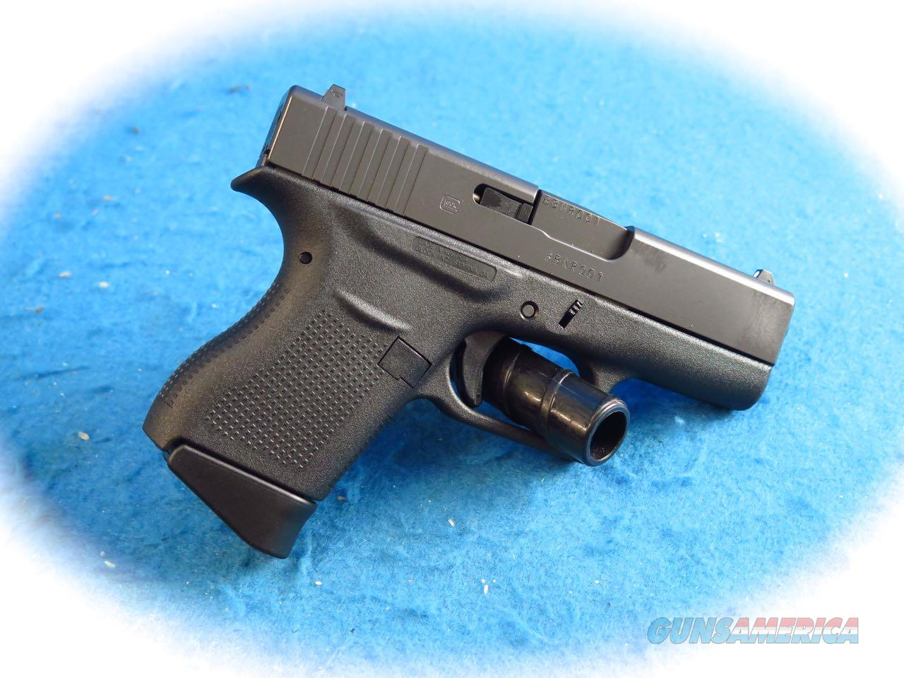 Glock Model 43 9mm Semi Auto Pistol  **New**  Guns > Pistols > Glock Pistols > 43