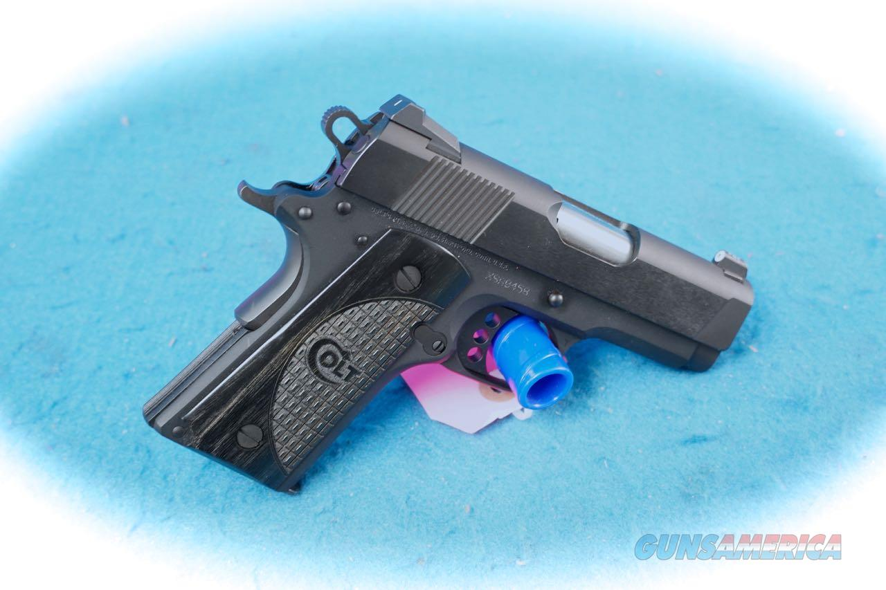 **PRICE REDUCED** Colt 1911 New Agent 9MM Pistol (Talo Edition) **Used**  Guns > Pistols > Colt Automatic Pistols (1911 & Var)