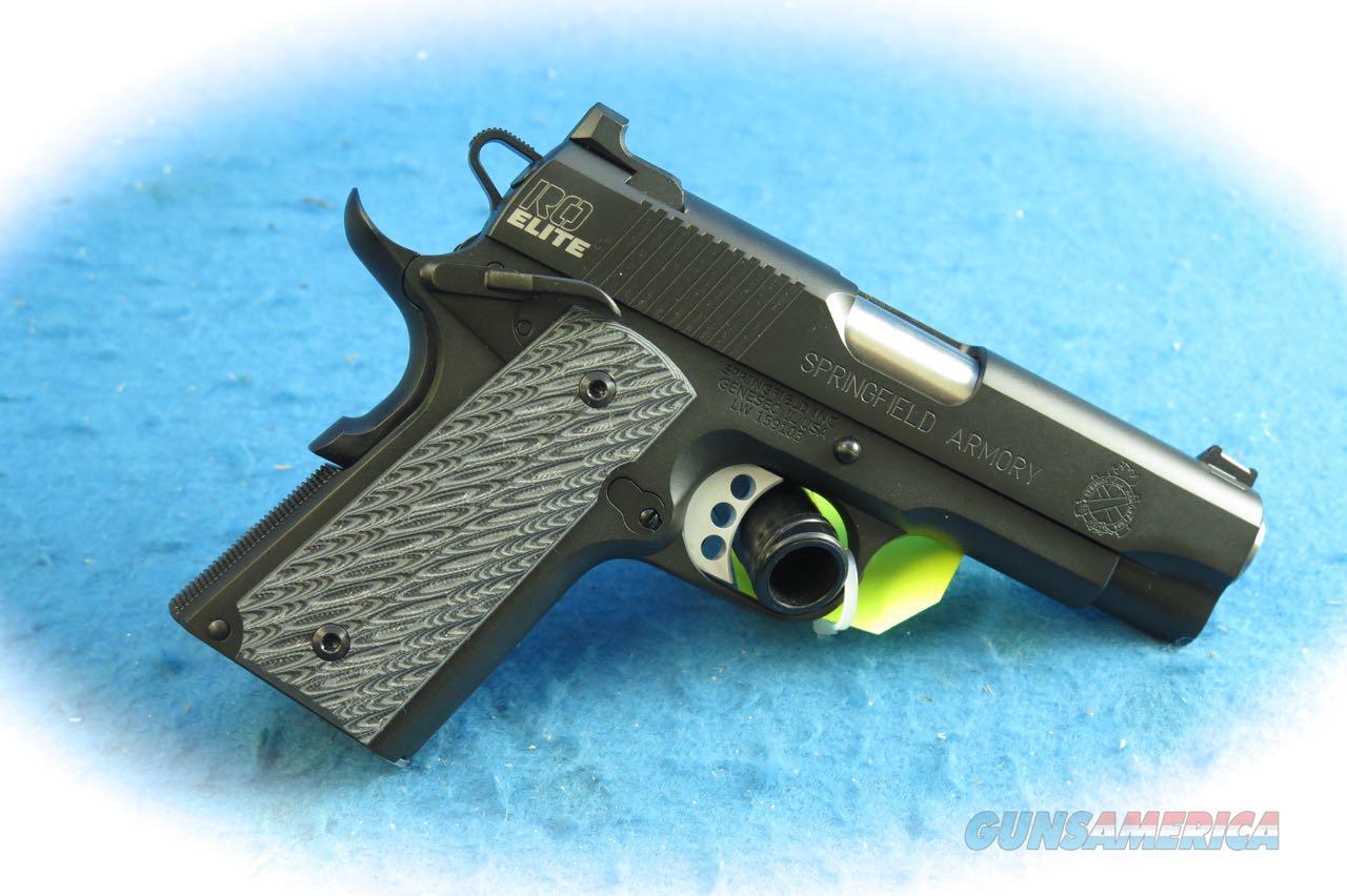 Springfield Armory 1911 RO Elite Champion 9mm Pistol Model PI9137ER  **New**  Guns > Pistols > Springfield Armory Pistols > 1911 Type
