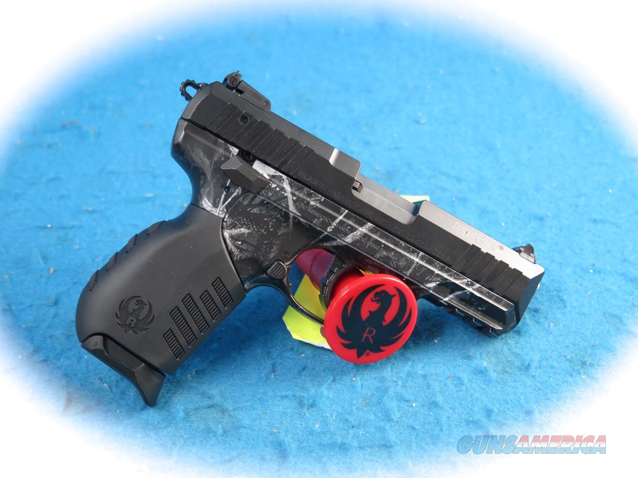 Ruger SR22 Semi Auto .22LR Pistol Model 3637m**New**  Guns > Pistols > Ruger Semi-Auto Pistols > SR Family > SR22