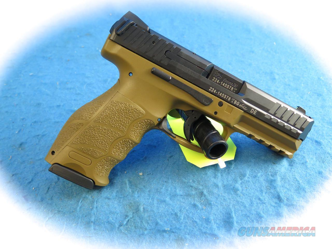 Heckler & Koch VP9 FDE 9mm Pistol Model 700009FDE-A5 **New**   Guns > Pistols > Heckler & Koch Pistols > Polymer Frame
