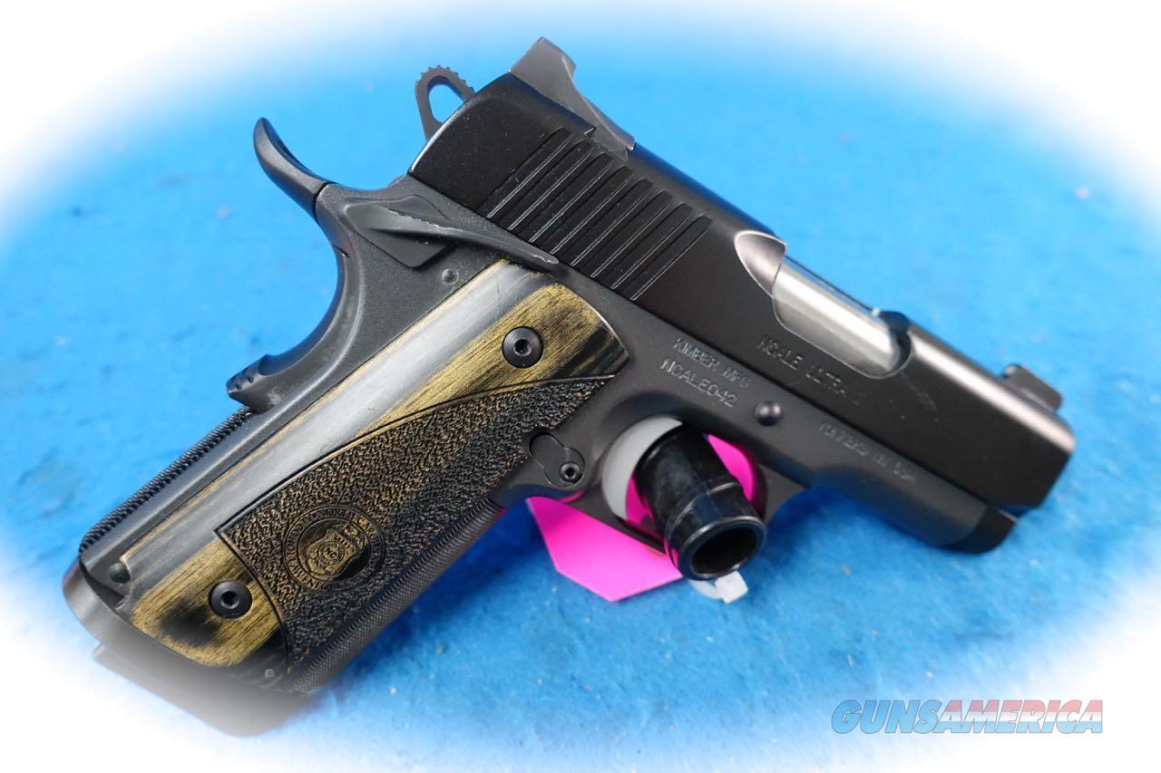 Kimber 1911 NCALE Ultra II .45 ACP Pistol **Used**  Guns > Pistols > Kimber of America Pistols > 1911