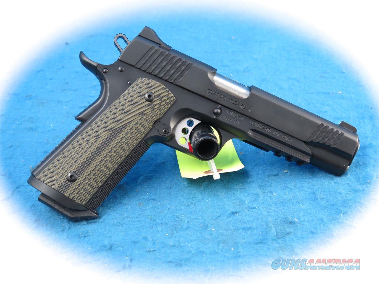 Kimber 1911 Custom TLE/RL II (EM) .45 ACP Pistol Model  3200370 **New**  Guns > Pistols > Kimber of America Pistols > 1911