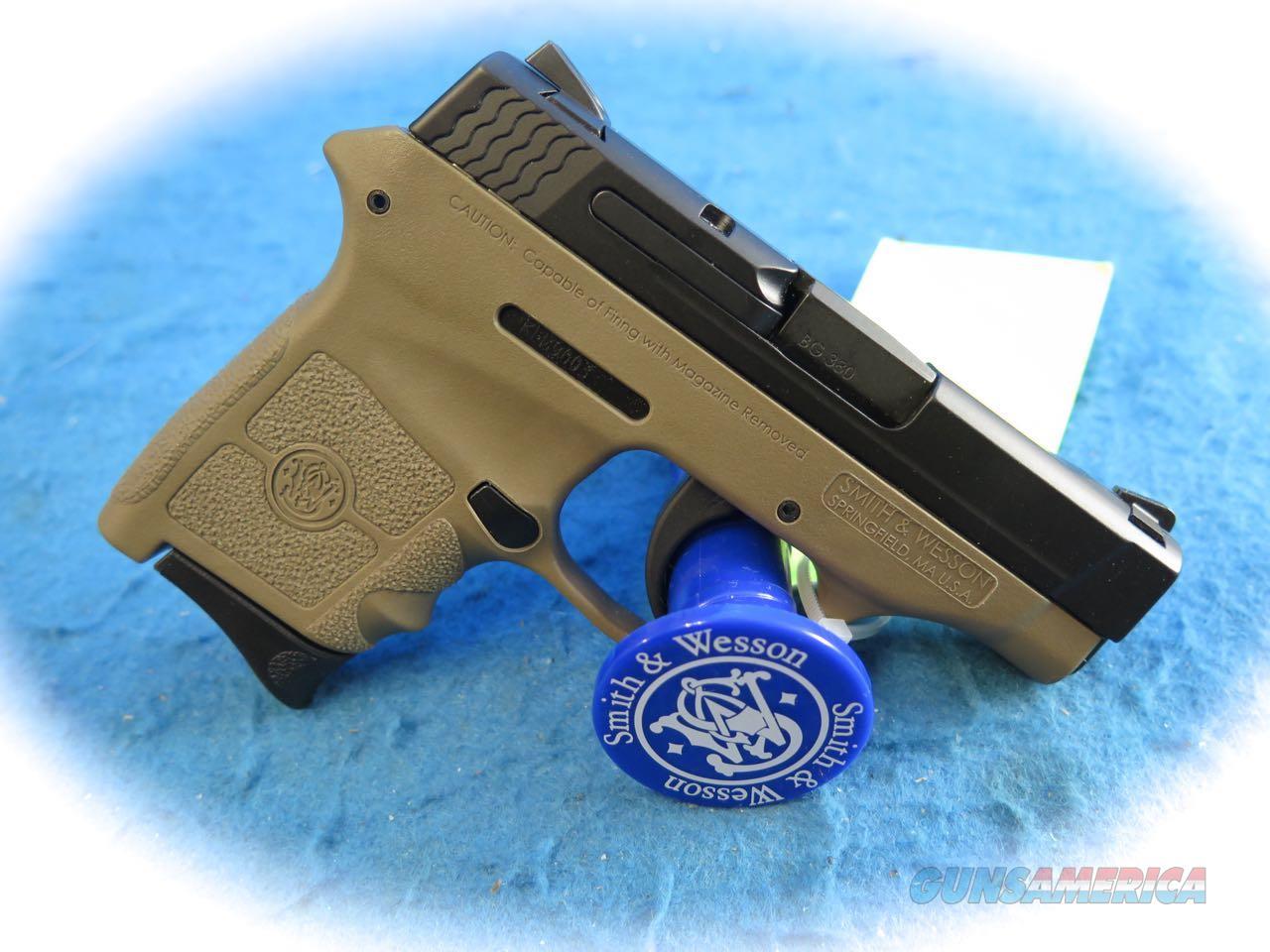 Smith & Wesson M&P Bodyguard 380 Non Laser FDE W/TS SKU 10167 **New**  Guns > Pistols > Smith & Wesson Pistols - Autos > Polymer Frame