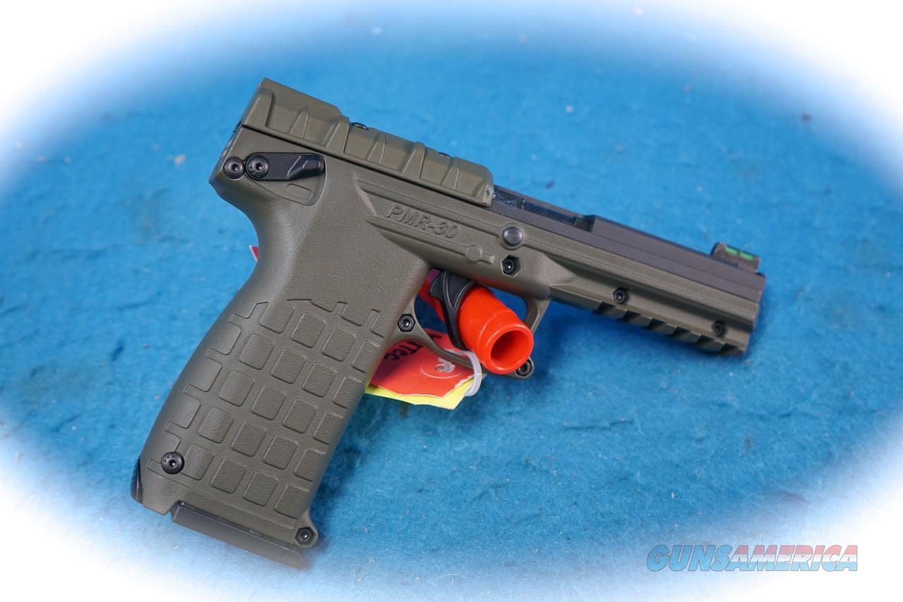 Kel-Tec PMR30 Green Finish .22 Magnum Pistol **New**  Guns > Pistols > Kel-Tec Pistols > Other