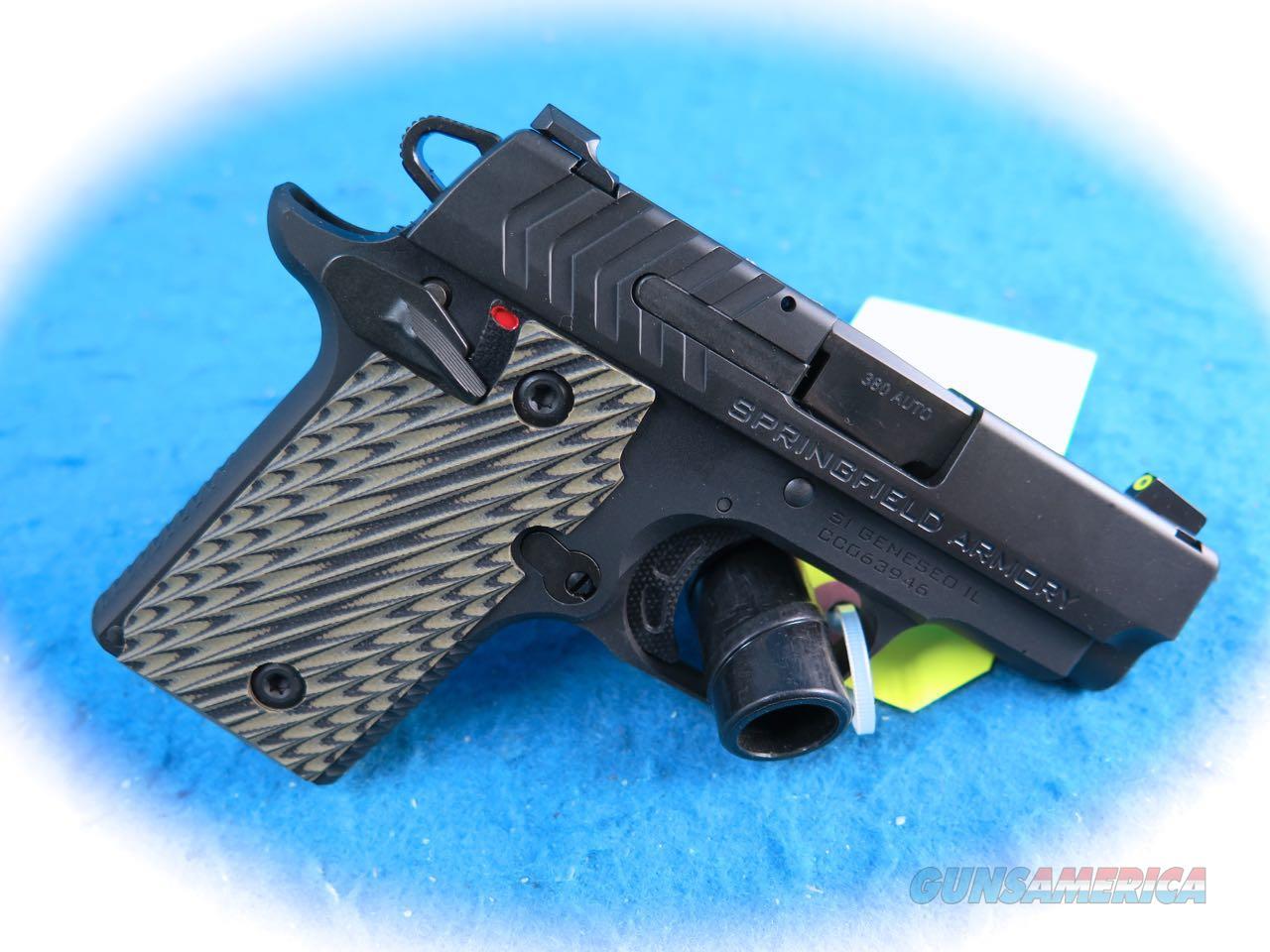 Springfield Armory 911 .380 ACP Pistol Model PG9109 **New**  Guns > Pistols > Springfield Armory Pistols > 911