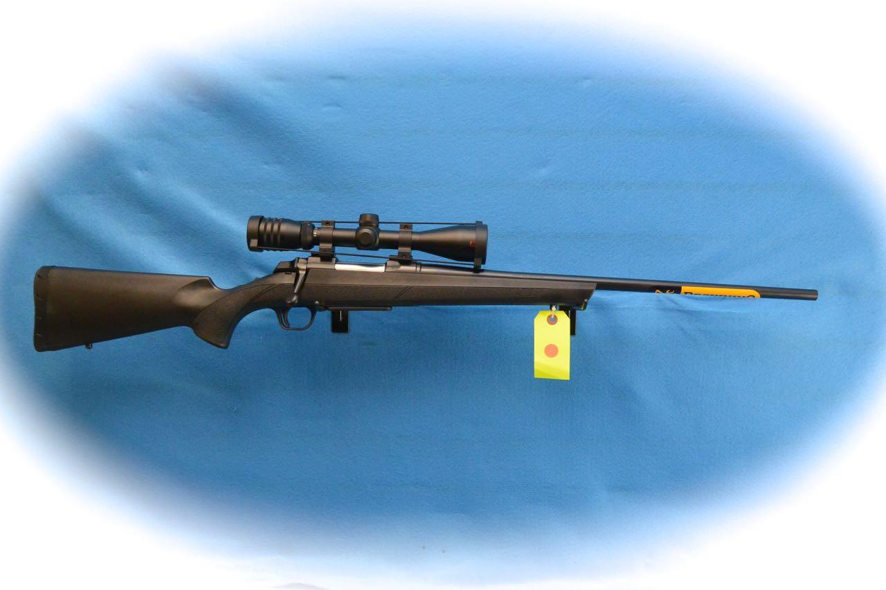 Browning A-Bolt III Bolt Action Rifle/Scope Pkg .308 Win Cal **New**  Guns > Rifles > Browning Rifles > Bolt Action > Hunting > Blue