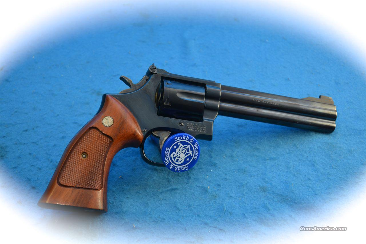 Smith & Wesson Model 586 .356 Mag Blue 6 Inch BBL **Used**  Guns > Pistols > Smith & Wesson Revolvers > Full Frame Revolver