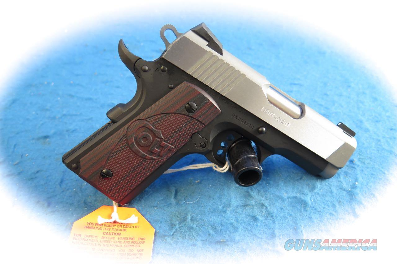 Colt 1911 Defender Lightweight  .45 ACP Pistol (Factory Error)  **New**  Guns > Pistols > Colt Automatic Pistols (1911 & Var)
