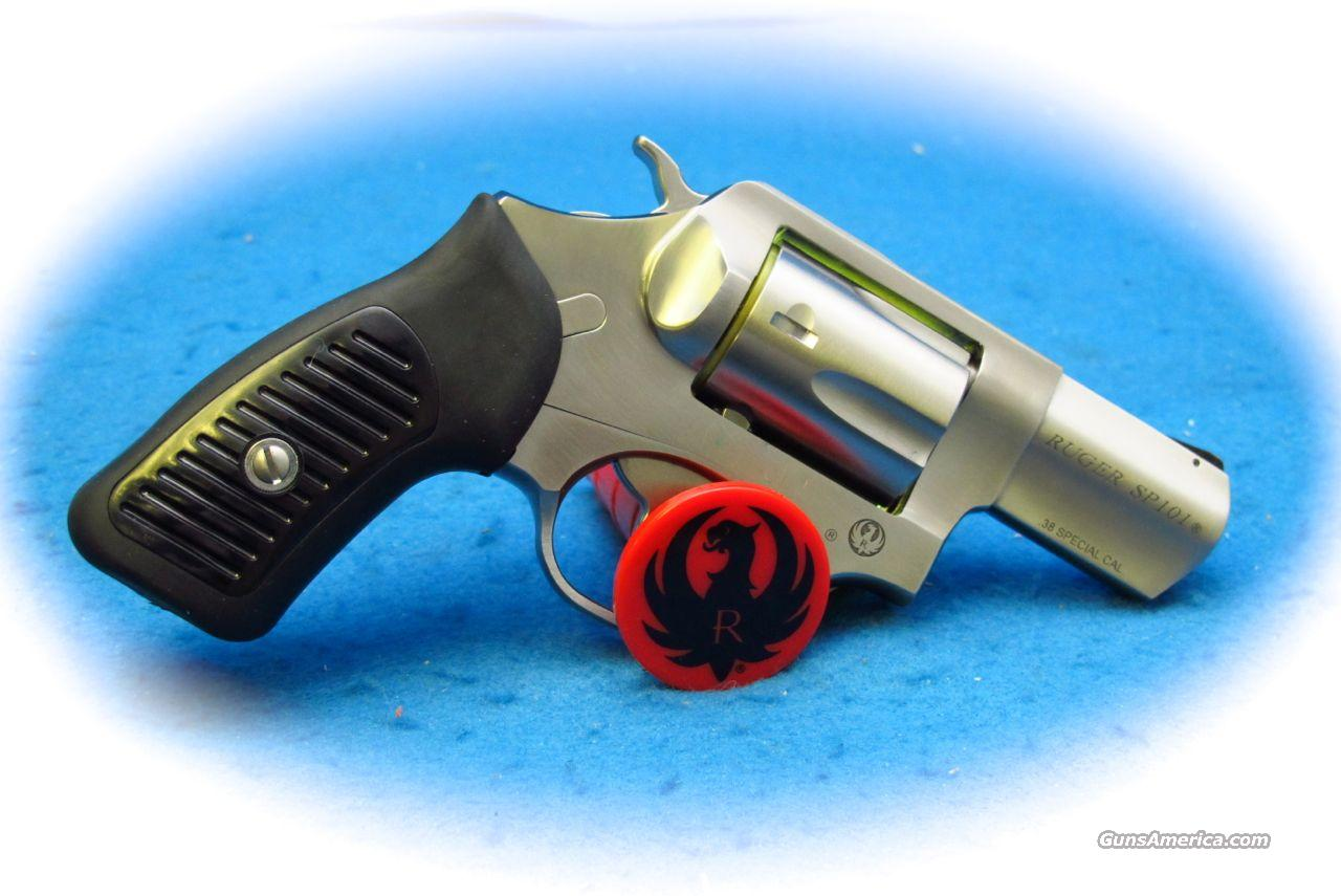 Ruger SP101 SS .38 Spl +P Revolver **New**  Guns > Pistols > Ruger Double Action Revolver > SP101 Type