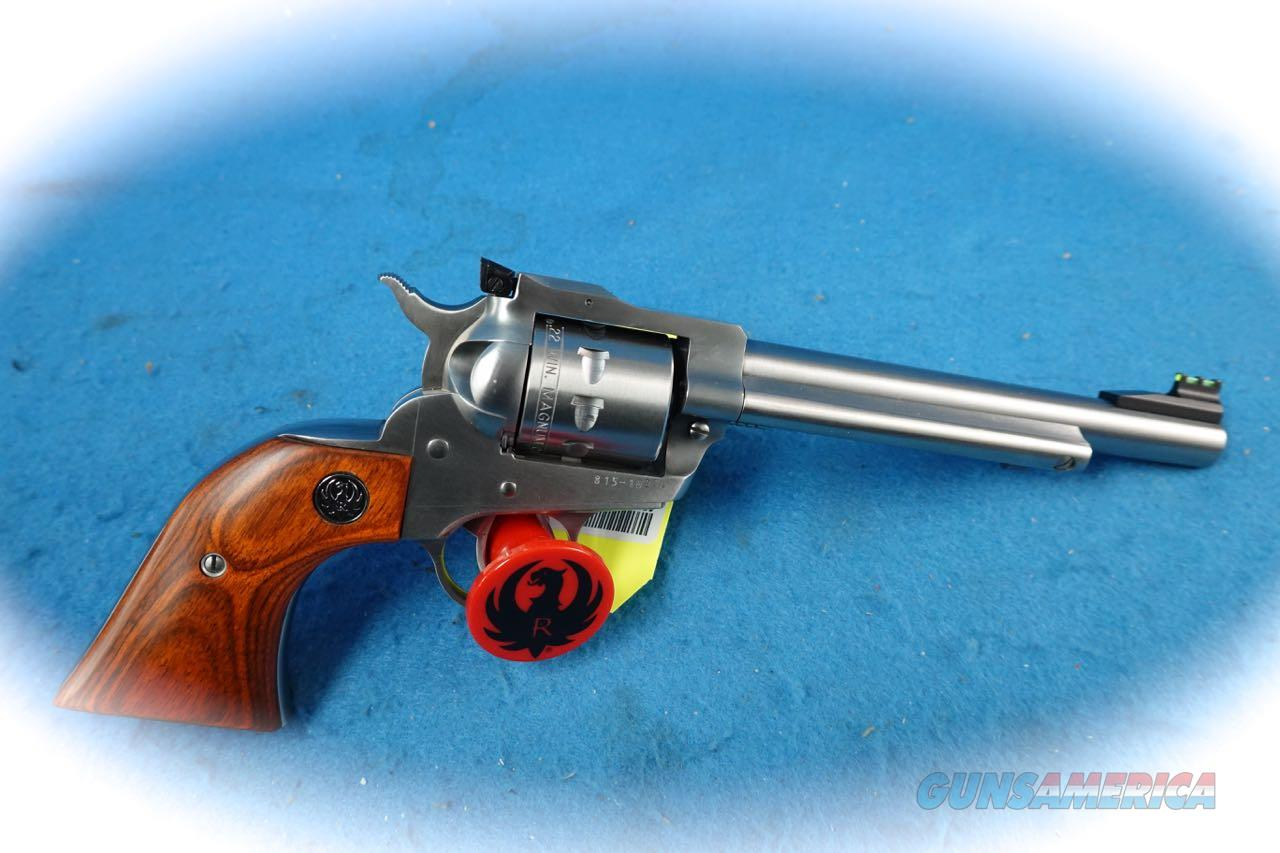 Ruger New Model Single-Nine .22 Magnum SS Revolver **Used**  Guns > Pistols > Ruger Single Action Revolvers > Single Six Type