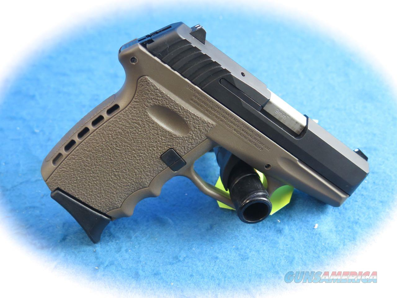 SCCY Industries CPX-2 FDE 9mm Semi Auto Pistol **Used**  Guns > Pistols > SCCY Pistols > CPX2