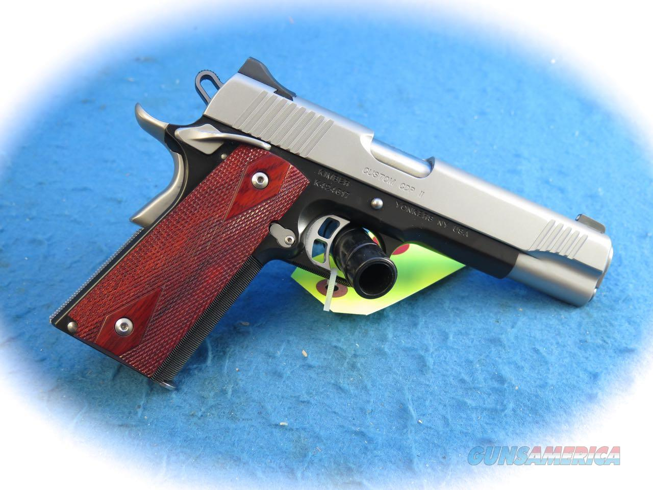 PRICE REDUCED Kimber 1911 Custom CDP II .45 ACP Pistol **Used**  Guns > Pistols >  Kimber of America Pistols > 1911