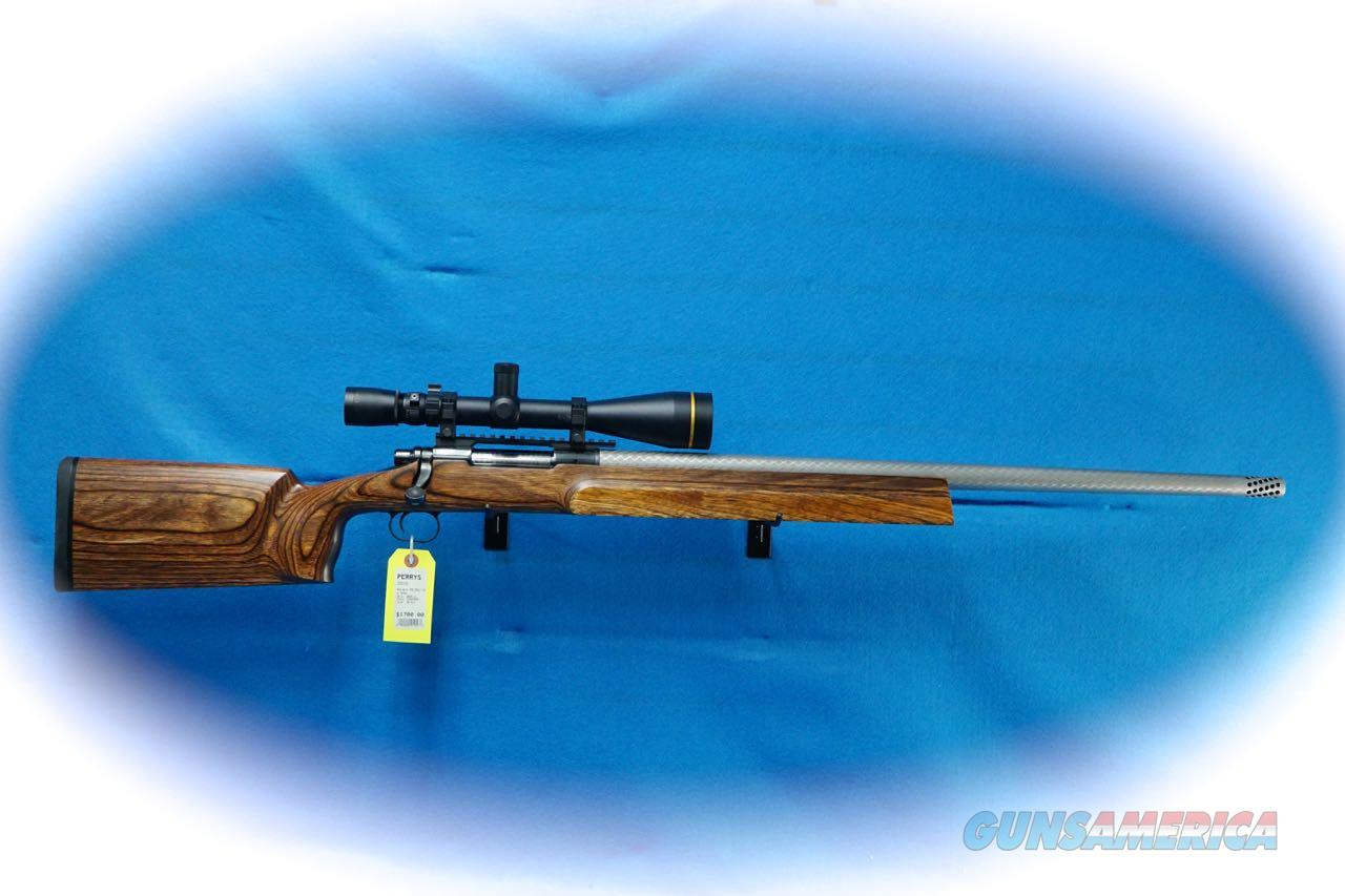 **Price Reduced*** Custom Remington Model 700 Bolt Rifle .30 Hart Cal W/ Leupold Scope **Used**  Guns > Rifles > Remington Rifles - Modern > Model 700 > Sporting