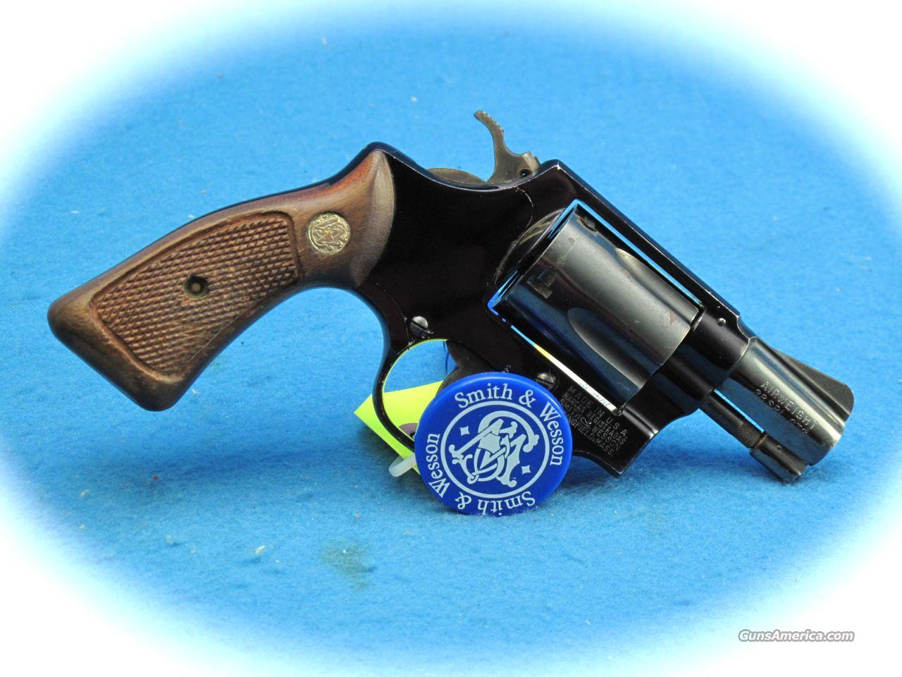 Smith & Wesson Model 37 Airweight Revolver 38 Spl. **USED**  Guns > Pistols > Smith & Wesson Revolvers > Pocket Pistols