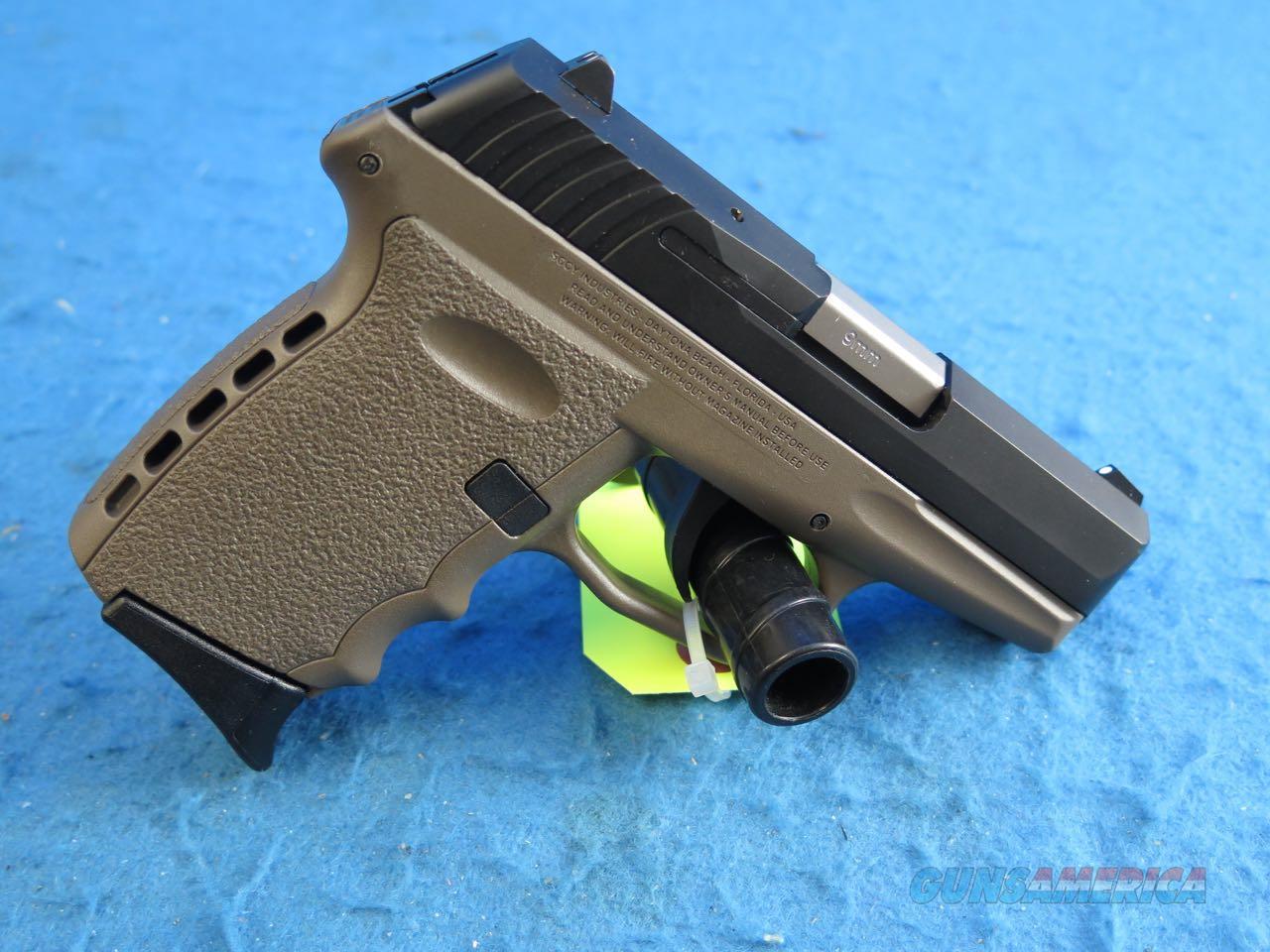 SCCY Model CPX-2 CBSG 9mm Pistol FDE/Black **New**  Guns > Pistols > SCCY Pistols > CPX2