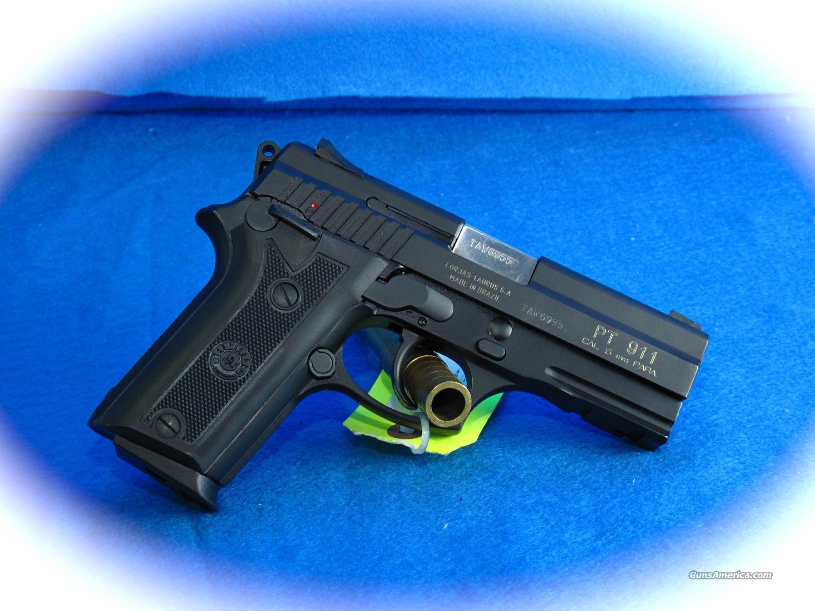 Taurus Pt 911 9mm Hi Cap Semi Auto Pistol For Sale