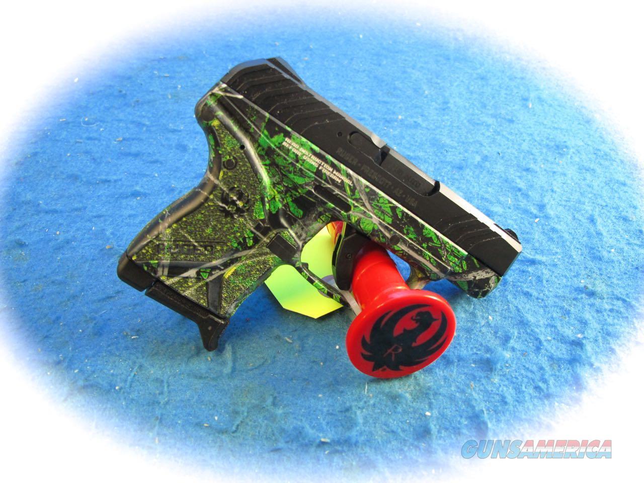 Ruger LCP II .380 ACP Pistol  Moonshine Toxic Camo Model 3765 **New**   Guns > Pistols > Ruger Semi-Auto Pistols > LCP