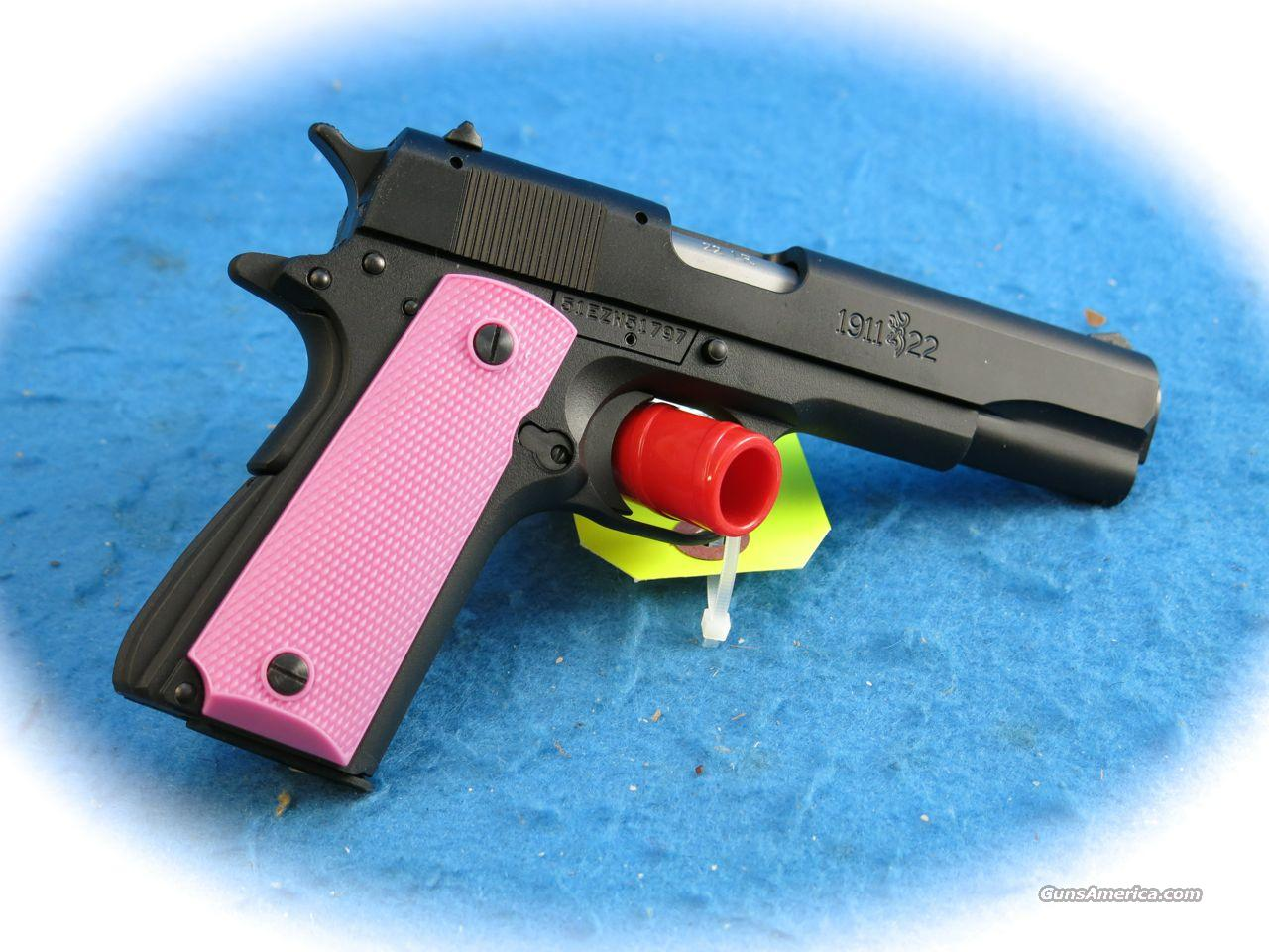 **SALE!!** Browning 1911-22A1 .22LR Pistol Pink **New**  Guns > Pistols > Browning Pistols > Other Autos