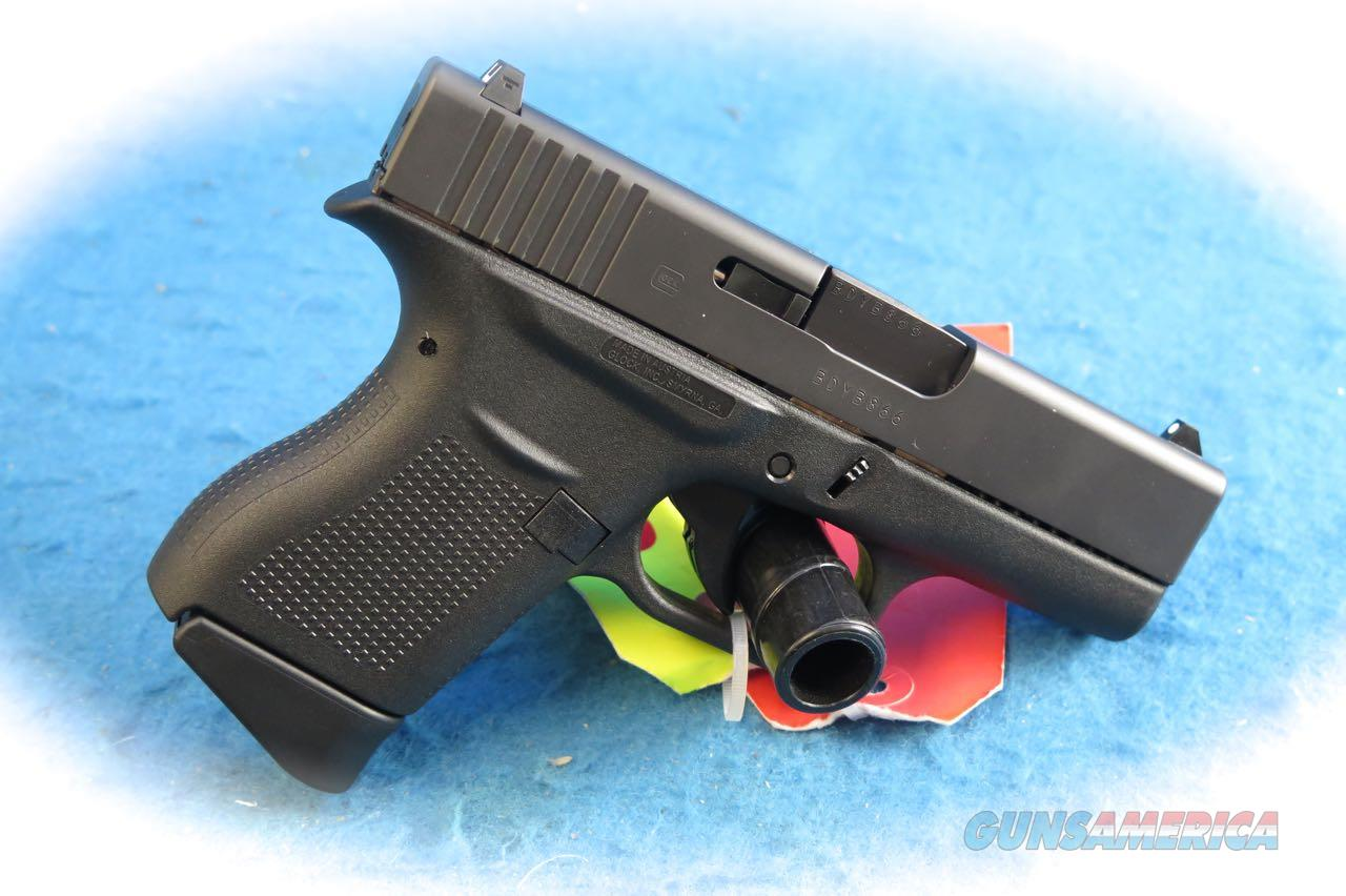 Glock Model 43 9mm Semi Auto Pistol  **New** ON SALE  Guns > Pistols > Glock Pistols > 43