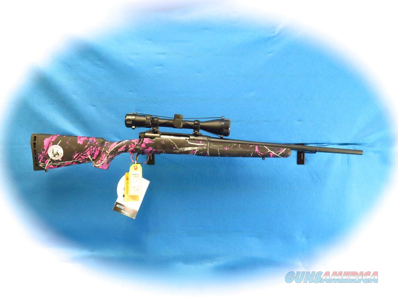 "Savage Axis XP II .243 Win ""Youth"" Bolt Action Rifle/Scope Pkg Muddy Girl Camo **New**  Guns > Rifles > Savage Rifles > Accutrigger Models > Sporting"