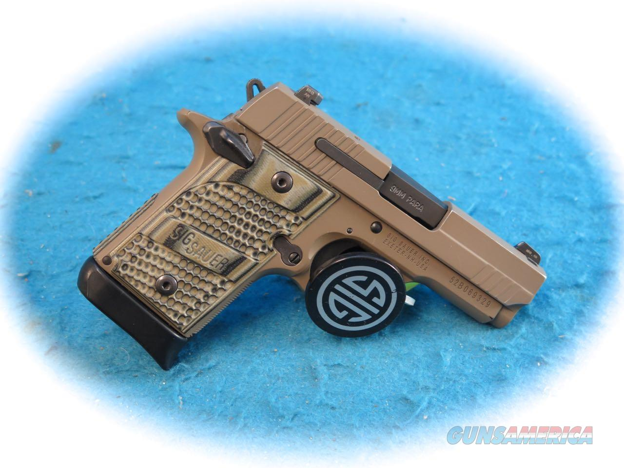Sig Sauer P938 Scorpion 9mm Pistol **Used**  Guns > Pistols > Sig - Sauer/Sigarms Pistols > P938