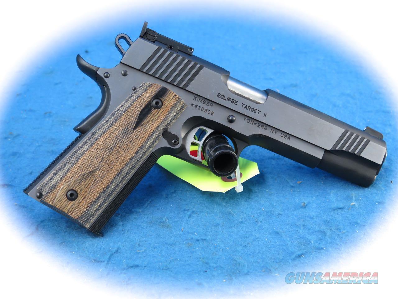 Kimber 1911 Custom Eclipse Target .45 ACP Pistol Model 3000241 **New**  Guns > Pistols > Kimber of America Pistols > 1911