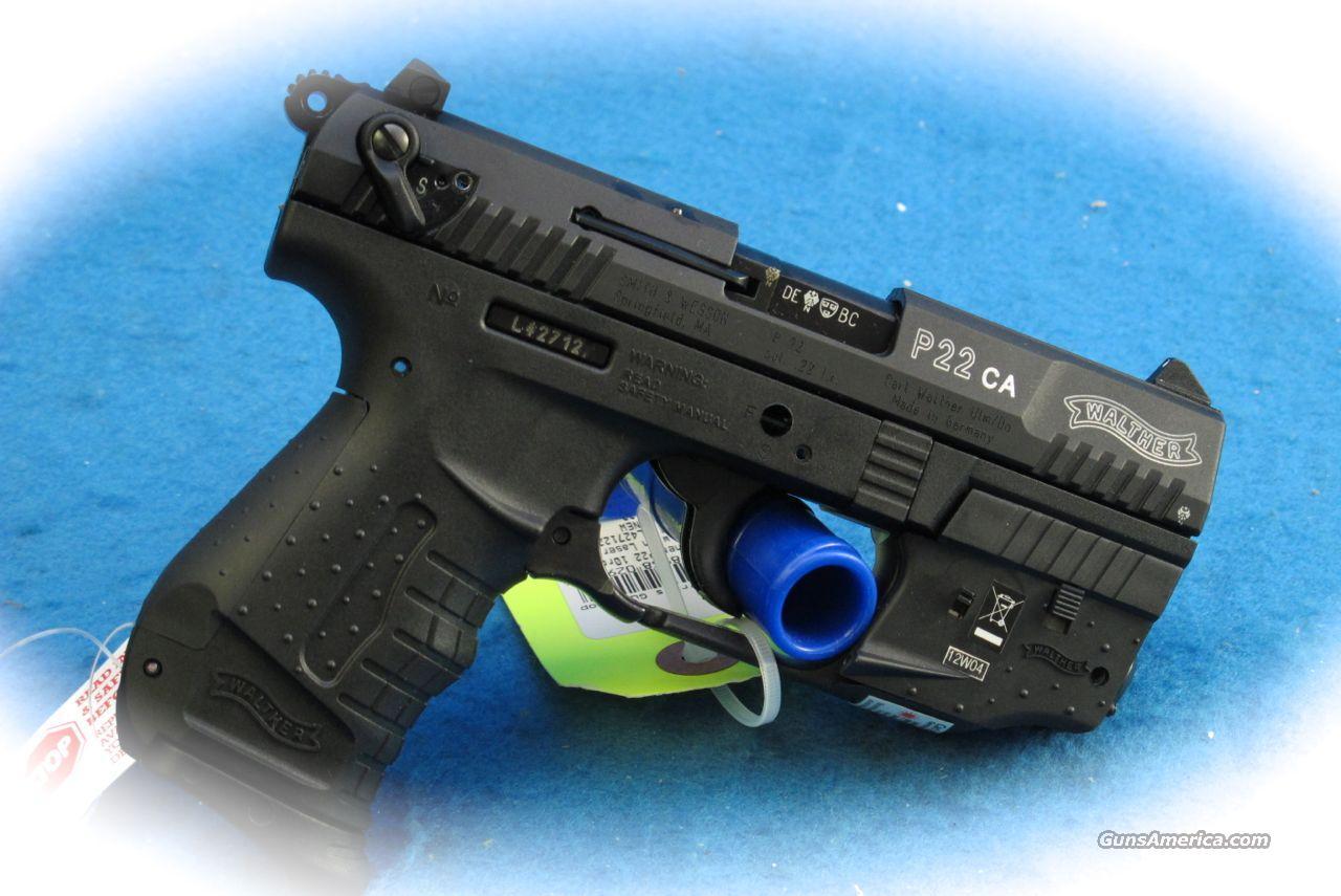 **SALE!** Walther P22 Semi Auto .22LR Pistol w/Laser **New**  Guns > Pistols > Walther Pistols > Post WWII > P22