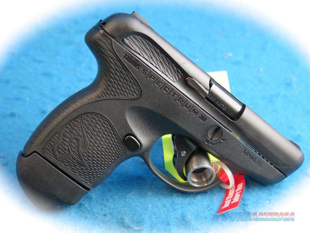 Taurus Spectrum .380 ACP Pistol **New**  Guns > Pistols > Taurus Pistols > Semi Auto Pistols > Polymer Frame