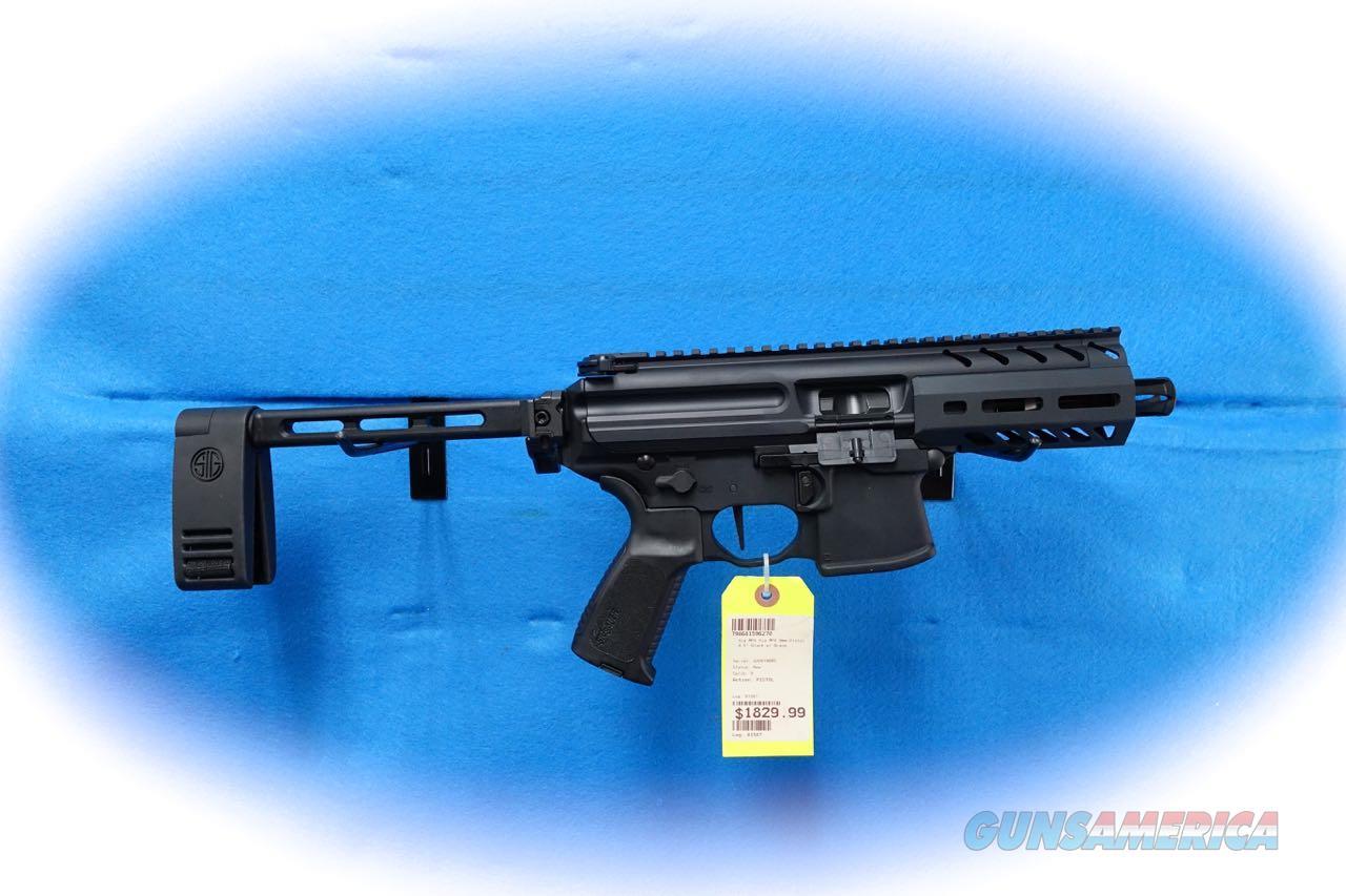 Sig Sauer MPX-K 9mm Semi Auto Pistol W/Brace **New**  Guns > Pistols > Sig - Sauer/Sigarms Pistols > MPX / MCX