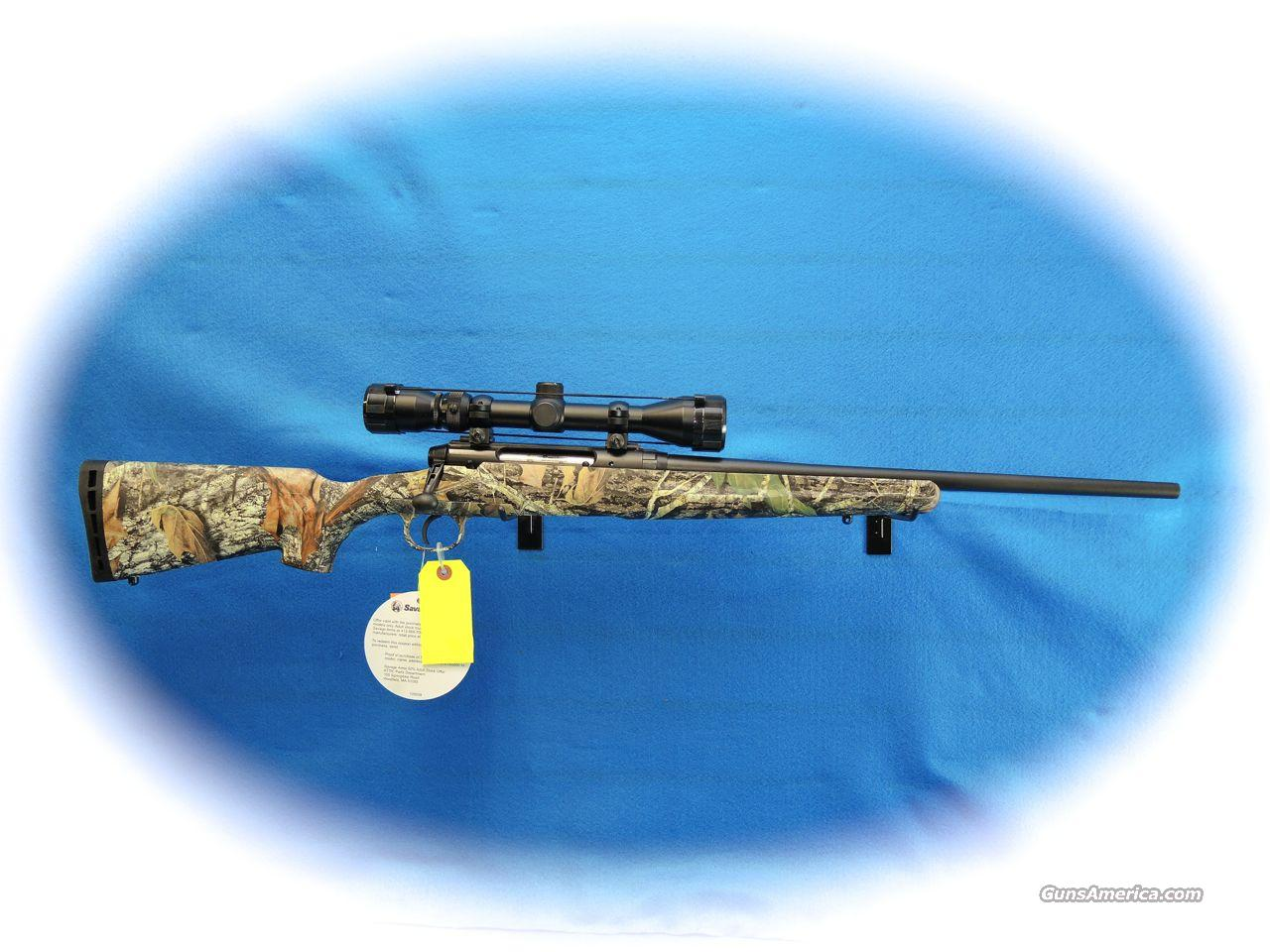 Savage Axis XP Youth Rifle/Scope Pkg. Camo .223 Cal **New**  Guns > Rifles > Savage Rifles > Standard Bolt Action > Sporting