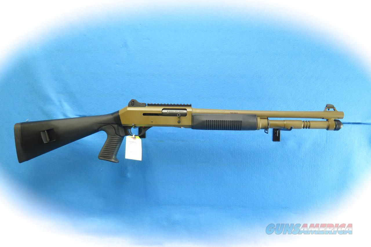 Benelli M4 12 Gauge Semi Auto Tactical Shotgun Cerakote Model 11791 **New**  Guns > Shotguns > Benelli Shotguns > Tactical