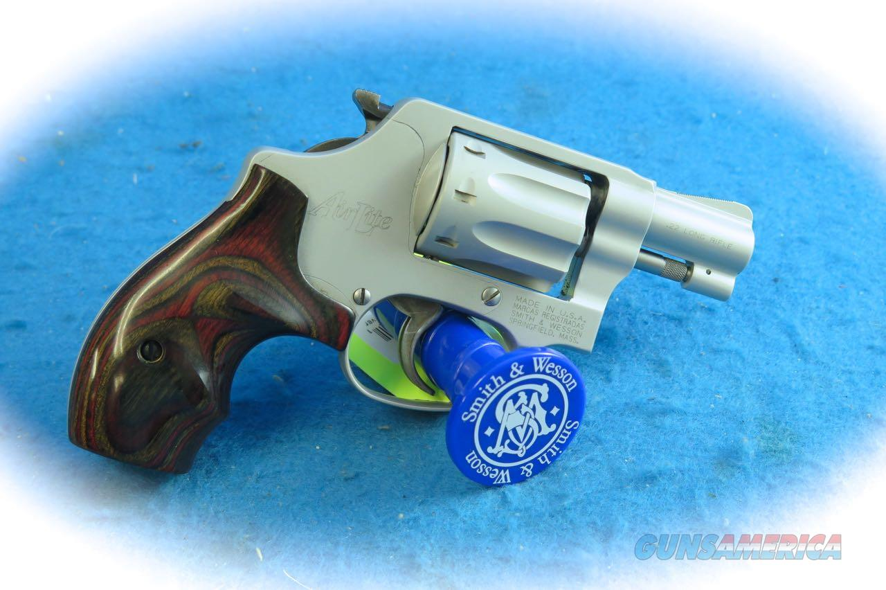 Smith & Wesson Model 317 .22 LR AirLite Revolver **Used**  Guns > Pistols > Smith & Wesson Revolvers > Small Frame ( J )