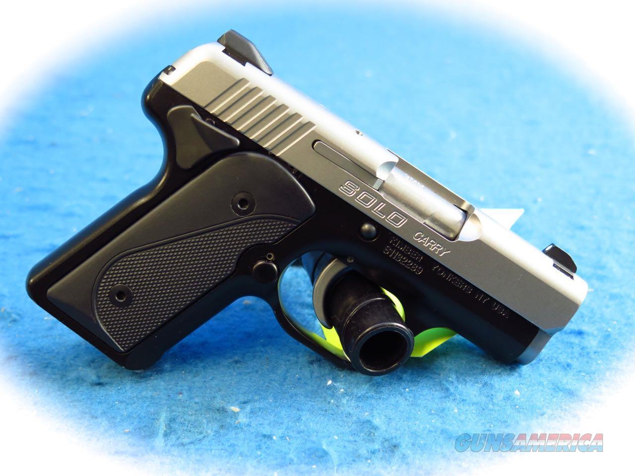 **SALE** Kimber Solo Carry 9mm Semi Auto Pistol **Used**  Guns > Pistols > Kimber of America Pistols