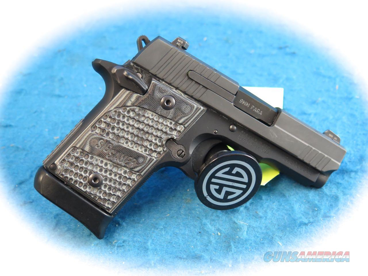 Sig Sauer P938 Extreme 9mm Pistol **Used**  Guns > Pistols > Sig - Sauer/Sigarms Pistols > P938
