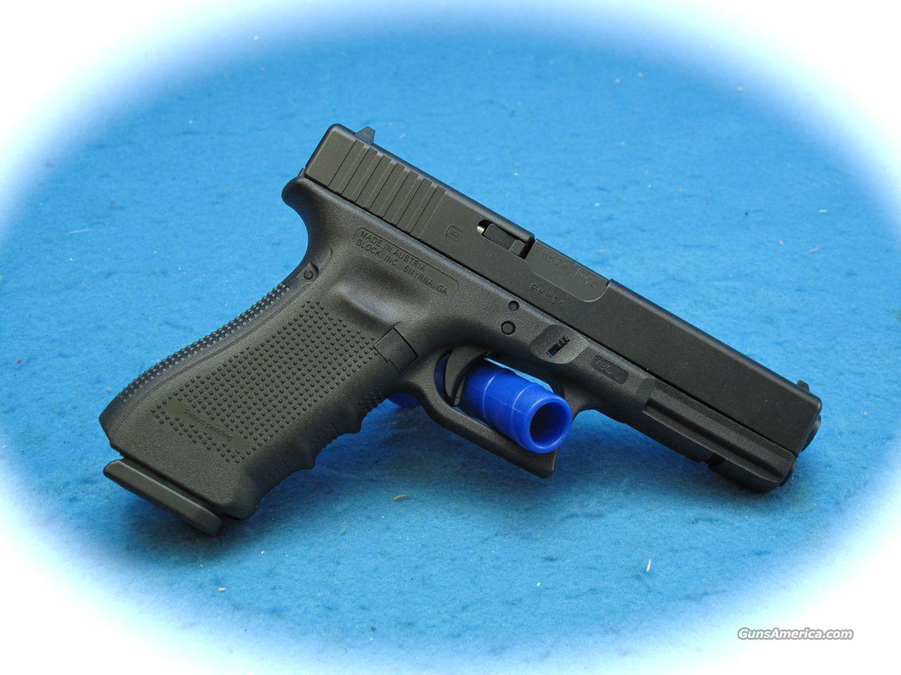 Glock Model 17 4th Generation 9mm **NEW**  Guns > Pistols > Glock Pistols > 17