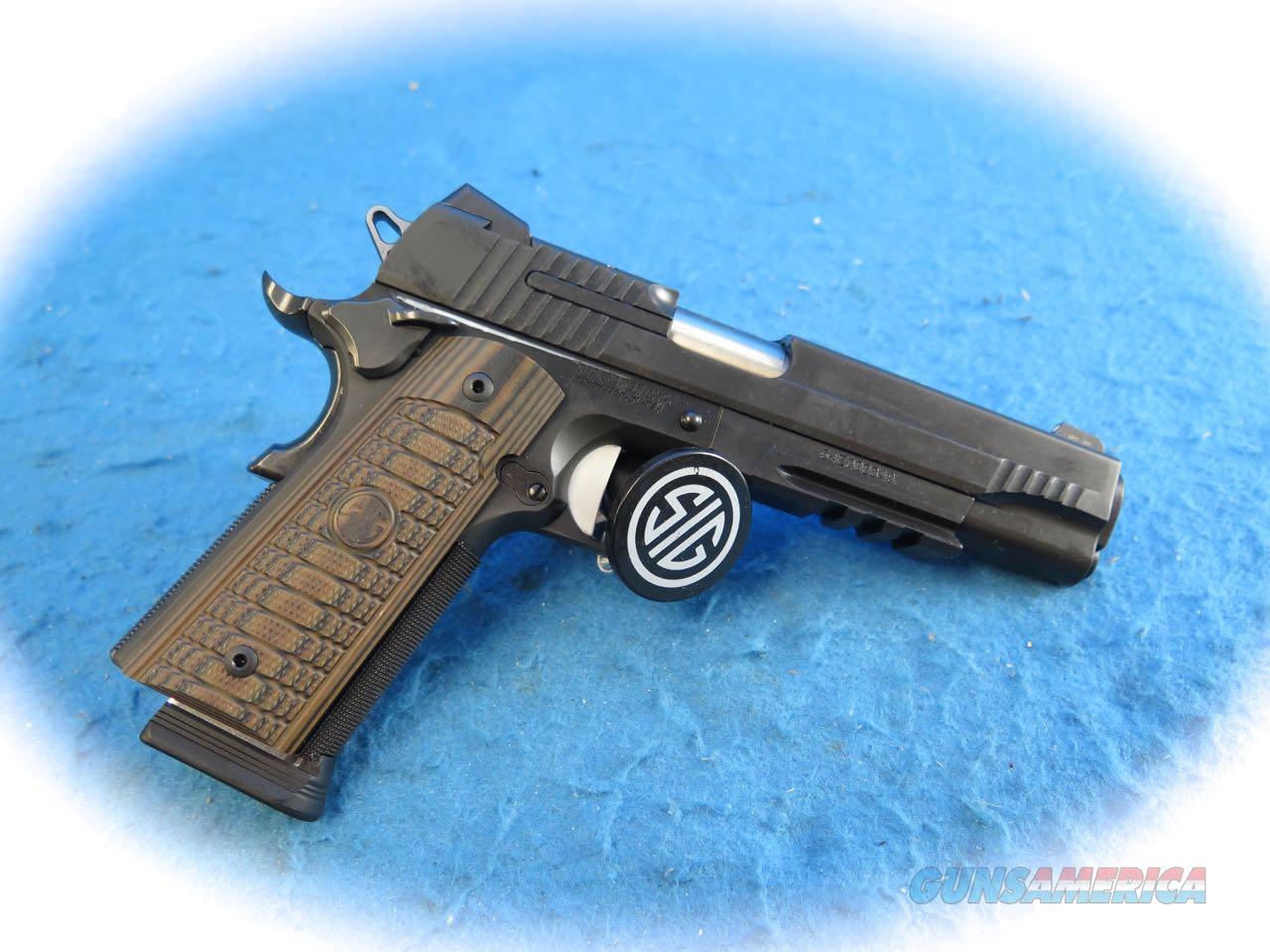 Sig Sauer 1911Select .45 ACP Pistol Model 1911R-45-SEL **New**  Guns > Pistols > Sig - Sauer/Sigarms Pistols > 1911