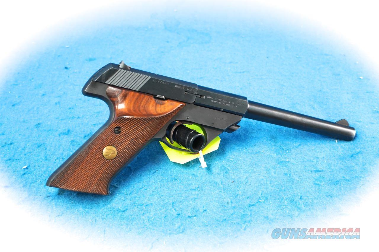 High Standard Sport King Model 103 .22 LR Semi Auto Pistol **Used**  Guns > Pistols > High Standard Pistols