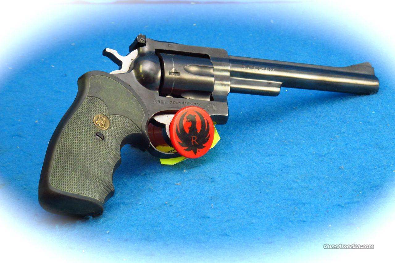 Ruger Security Six .357 Mag Revolver 6 Inch BBl. **Used**  Guns > Pistols > Ruger Double Action Revolver > Security Six Type