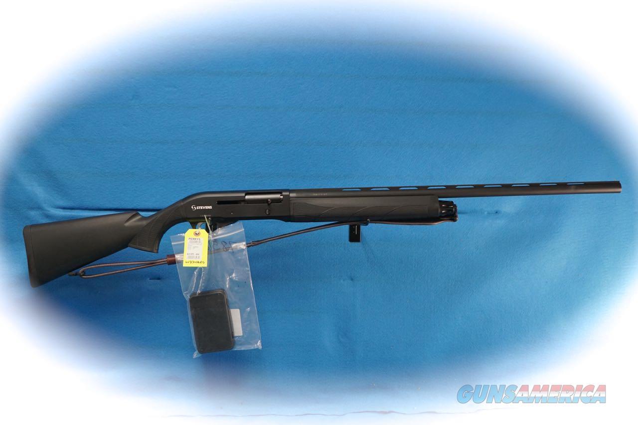 Stevens S1200 Semi Auto Shotgun W/Chokes **Used**  Guns > Shotguns > Stevens Shotguns